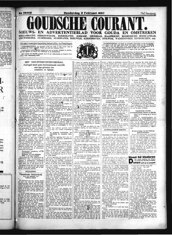 Goudsche Courant 1937-02-11