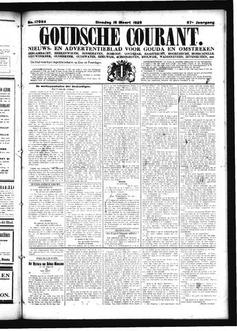Goudsche Courant 1929-03-19