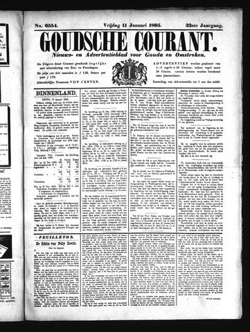 Goudsche Courant 1895-01-11