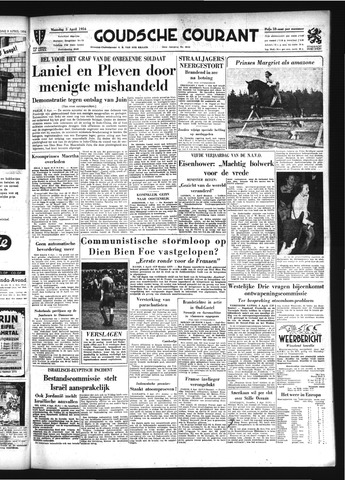 Goudsche Courant 1954-04-05