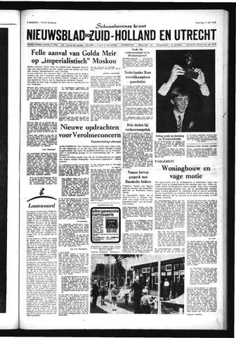 Schoonhovensche Courant 1970-07-13