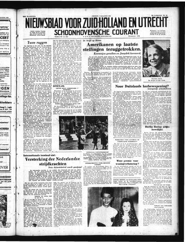 Schoonhovensche Courant 1950-08-04