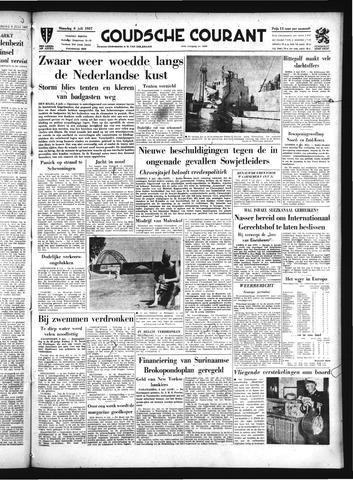 Goudsche Courant 1957-07-08