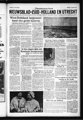 Schoonhovensche Courant 1961-09-11