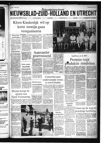 Schoonhovensche Courant 1972-10-30