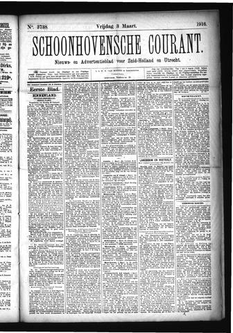 Schoonhovensche Courant 1916-03-03