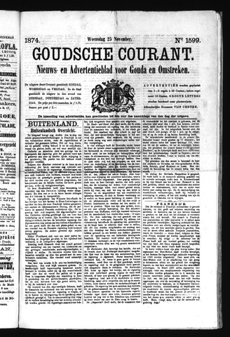 Goudsche Courant 1874-11-25