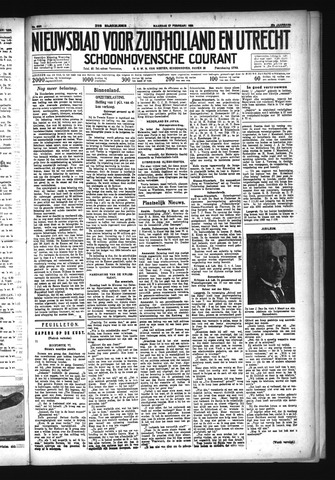 Schoonhovensche Courant 1933-02-27