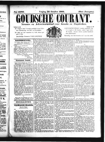 Goudsche Courant 1909-10-22