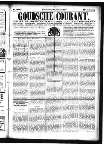 Goudsche Courant 1927-01-20