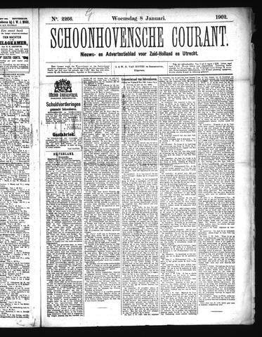 Schoonhovensche Courant 1902-01-08