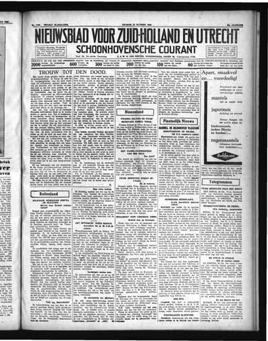 Schoonhovensche Courant 1936-10-23