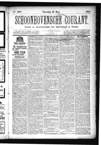 Schoonhovensche Courant 1915-05-25