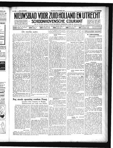 Schoonhovensche Courant 1938-09-12