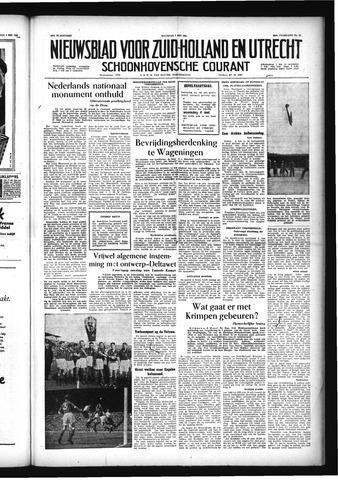 Schoonhovensche Courant 1956-05-07