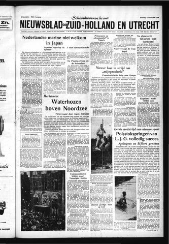 Schoonhovensche Courant 1960-09-05