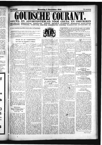 Goudsche Courant 1936-11-02