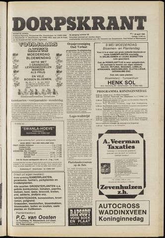 Dorpskrant 1982-04-29