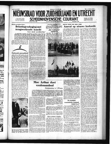 Schoonhovensche Courant 1951-03-28