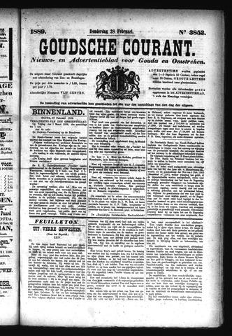 Goudsche Courant 1889-02-28