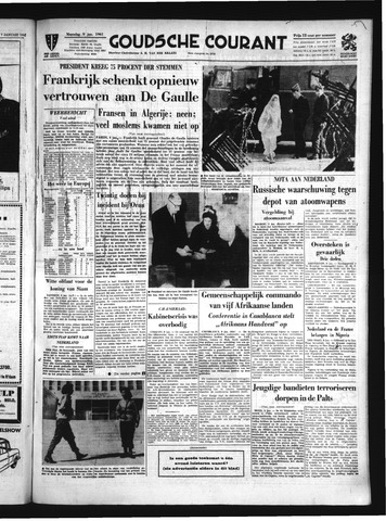Goudsche Courant 1961-01-09