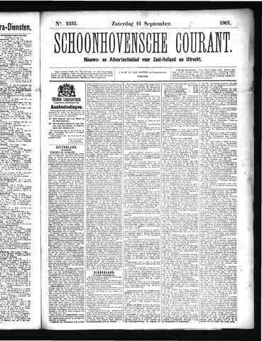Schoonhovensche Courant 1901-09-21