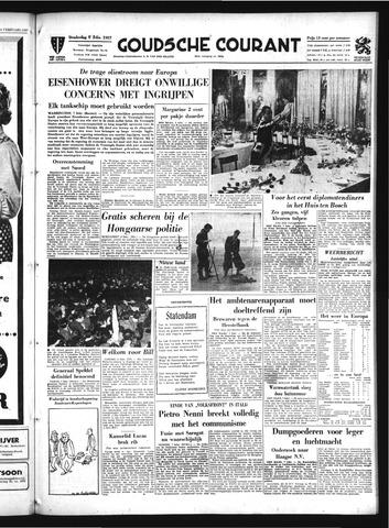 Goudsche Courant 1957-02-07