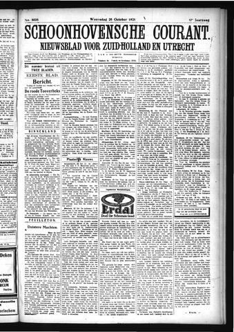 Schoonhovensche Courant 1925-10-28