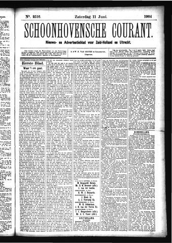 Schoonhovensche Courant 1904-06-11