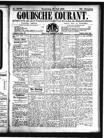 Goudsche Courant 1916-07-27