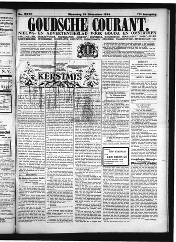 Goudsche Courant 1934-12-24