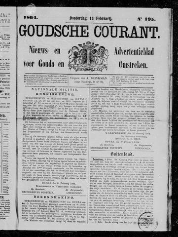 Goudsche Courant 1864-02-11
