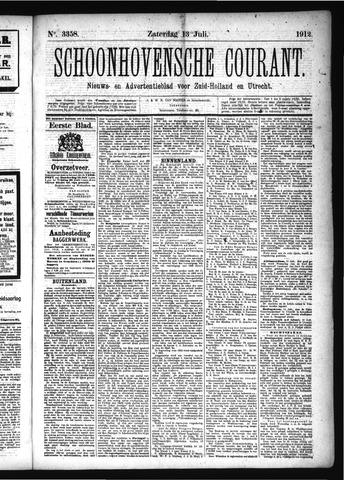 Schoonhovensche Courant 1912-07-13
