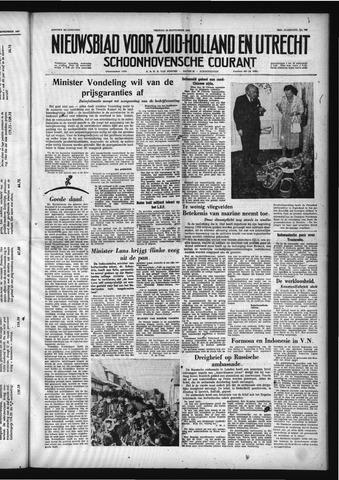 Schoonhovensche Courant 1958-09-19