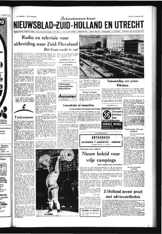 Schoonhovensche Courant 1971-08-06