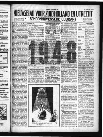 Schoonhovensche Courant 1947-12-31