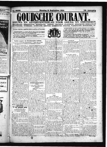 Goudsche Courant 1933-09-12