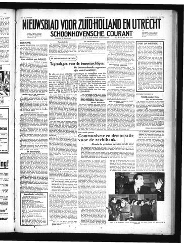 Schoonhovensche Courant 1949-01-26