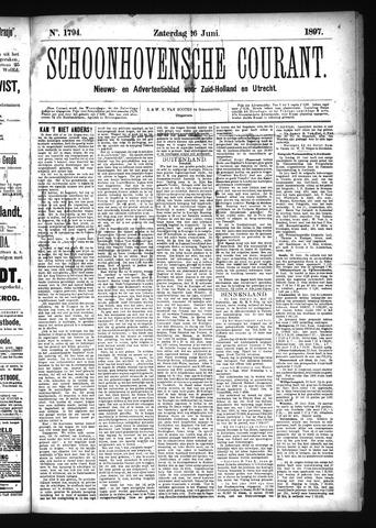 Schoonhovensche Courant 1897-06-26