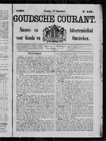 Goudsche Courant 1863-09-27