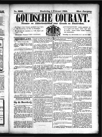 Goudsche Courant 1894-02-01