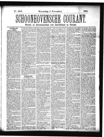 Schoonhovensche Courant 1904-11-02