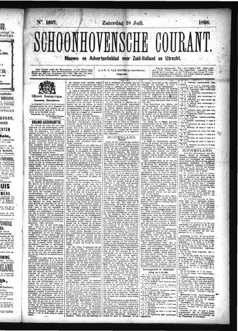 Schoonhovensche Courant 1896-07-18