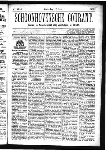 Schoonhovensche Courant 1908-05-16