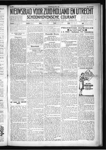 Schoonhovensche Courant 1931-04-27