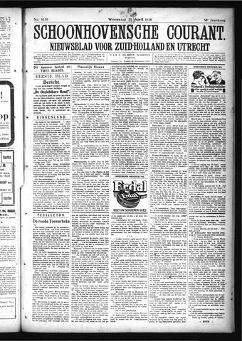 Schoonhovensche Courant 1926-04-21