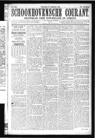 Schoonhovensche Courant 1924-08-11