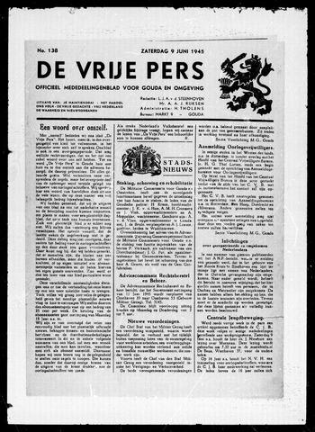 De Vrije Pers 1945-06-09