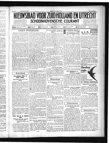 Schoonhovensche Courant 1937-03-03