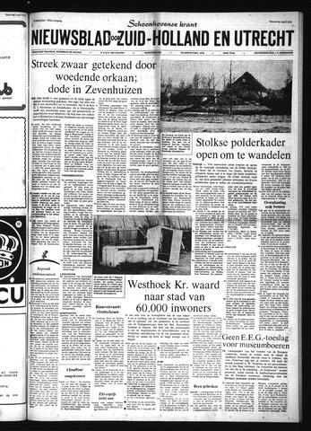 Schoonhovensche Courant 1973-04-04